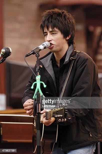 Jackie Greene performs at Red Rocks Amphitheatre in Morrison Colorado on September 2 2006