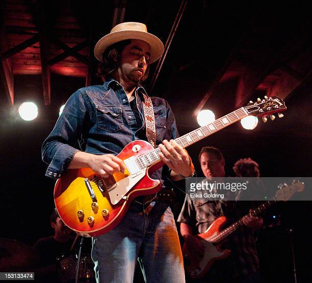 Jackie Greene performs at Tipitina's on September 30 2012 in New Orleans Louisiana