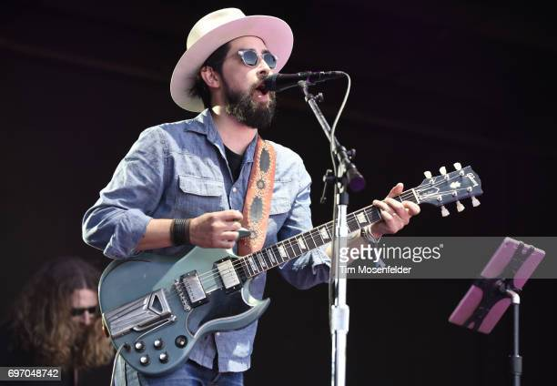 Jackie Greene performs during the Monterey International Pop Festival 2017 at Monterey County Fairgrounds on June 17 2017 in Monterey California