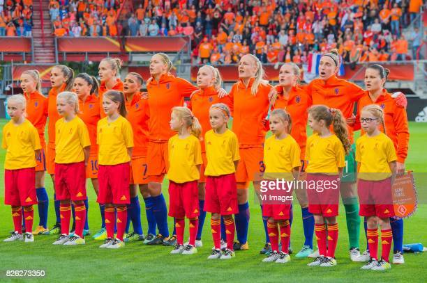 Jackie Groenen of Holland Women Lieke Martens of Holland Women Danielle van de Donk of Holland Women Vivianne Miedema of Holland Women Shanice van de...
