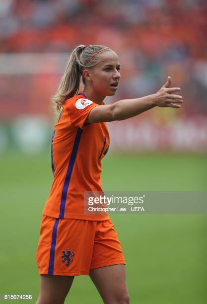 Jackie Groenen of the Netherlands during the UEFA Women's Euro 2017 Group A match between Netherlands and Norway at Stadion Galgenwaard on July 16...
