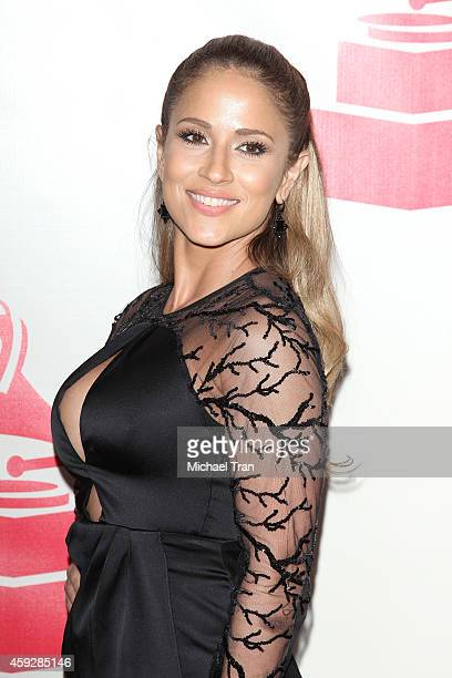 Jackie Guerrido arrives at the 2014 Person of the Year honoring Joan Manuel Serrat held at The Mandalay Bay Resort and Casino at the Events Center on...