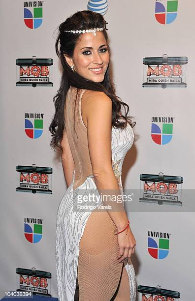 Jackie Guerrido attends 'Mira Quien Baila' premiere show on September 12 2010 in Miami Florida