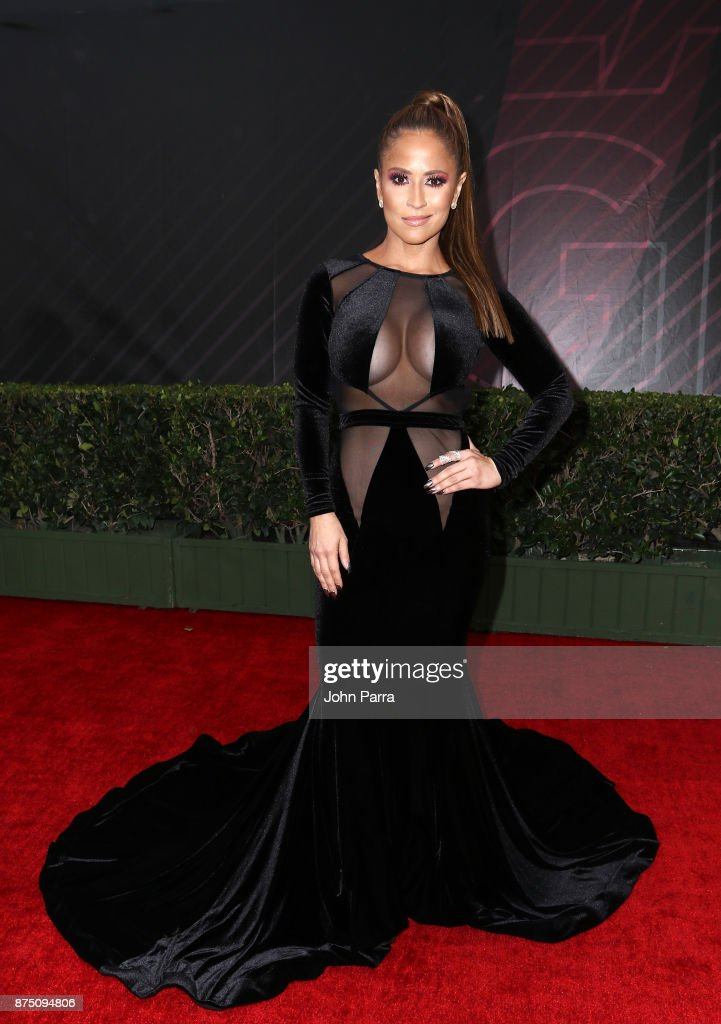 Jackie Guerrido attends The 18th Annual Latin Grammy Awards at MGM Grand Garden Arena on November 16, 2017 in Las Vegas, Nevada.