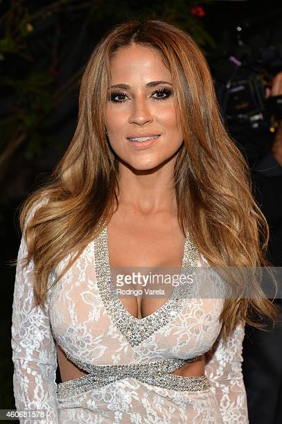 Jackie Guerrido attends the inagural Premios Univision Deportes at Univision Studios on December 17 2014 in Miami Florida