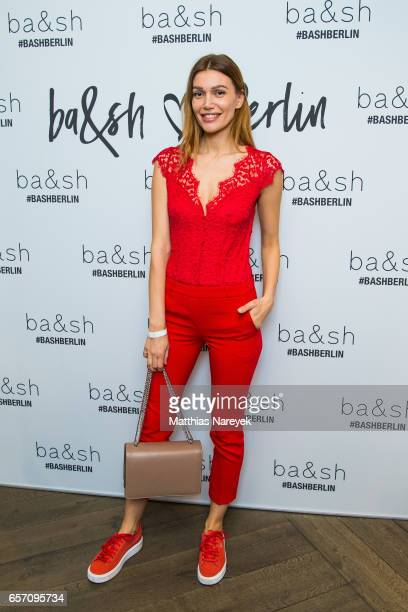 Jackie Hide attends the BaSh store opening on March 23 2017 in Berlin Germany