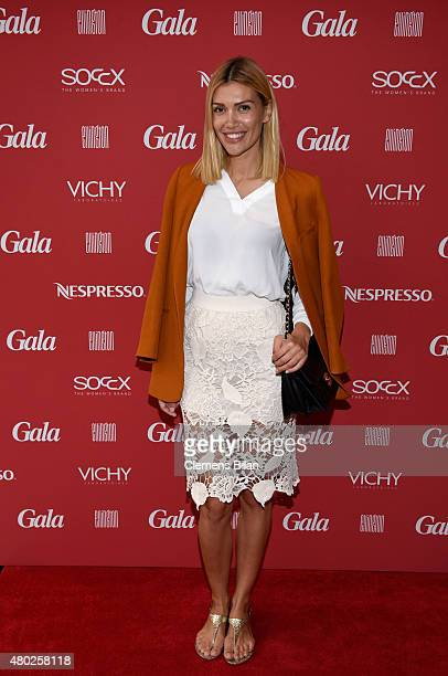 Jackie Hide attends the GALA Fashion Brunch Summer 2015 at Ellington Hotel on July 10 2015 in Berlin Germany