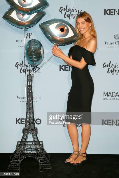 Jackie Hide attends the 'Kenzo World Launch In Berlin' at Galerie Lafayette on June 8 2017 in Berlin Germany