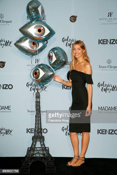 Jackie Hide attends the 'Kenzo World Launch In Berlin' at Galerie Lafayette on June 8 2017 in Berlin Germany