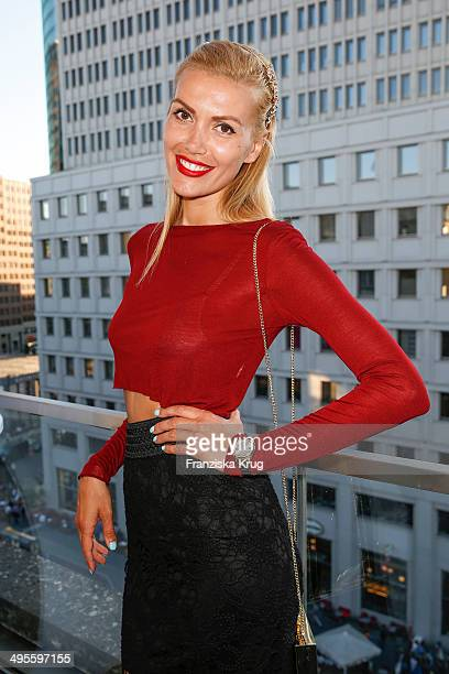 Jackie Hide attends the OK Magazine Hosts Barbeque on June 04 2014 in Berlin Germany