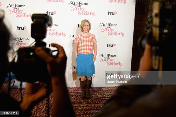 """Jackie Hoffman attends the premiere screening and party for truTV's new comedy series """"At Home with Amy Sedaris"""" at The Bowery Hotel on October 19..."""