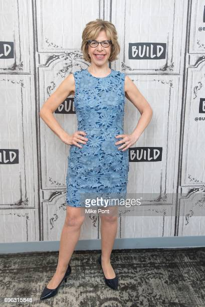 Jackie Hoffman visits Build Studio to discuss 'Feud' at Build Studio on June 15 2017 in New York City
