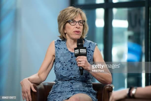 Jackie Hoffman visits Build Studio to discuss 'Feud' at Build Studio on June 15 2017 in New York City