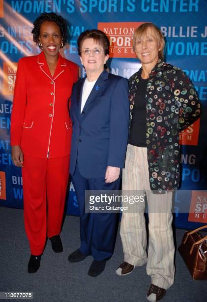 Jackie Joyner Kersee Billie Jean King and Martina Navratilova