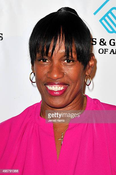 Jackie JoynerKersee arrives at the Boys and Girls Clubs of America's Annual Great Futures Gala at The Beverly Hilton Hotel on November 4 2015 in...