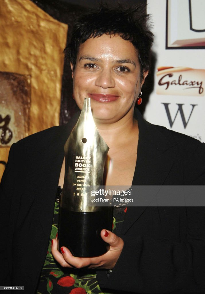 Jackie Kay with the Decibel Writer of the Year award at the Galaxy British Book Awards 2007 at the Grosvenor House Hotel in central London.