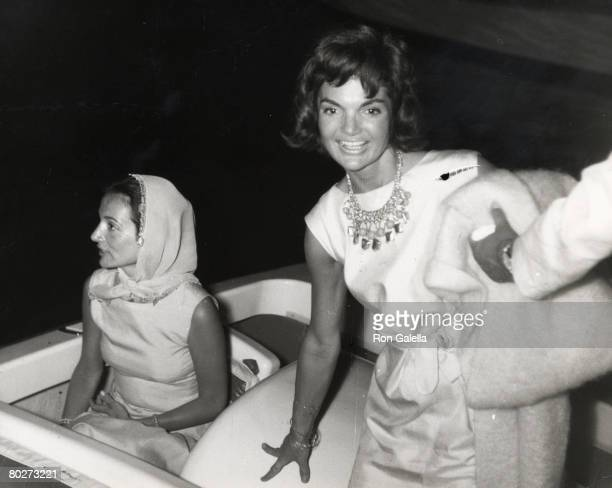 Jackie Kennedy Onassis and Lee Radziwill