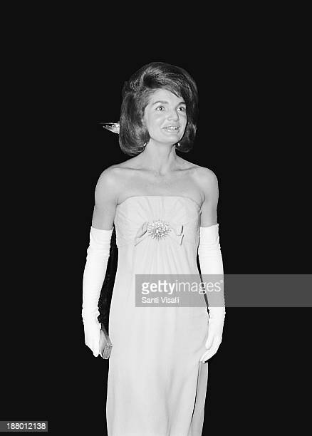 Jackie Kennedy posing for a photo on March 191965 in New York New York