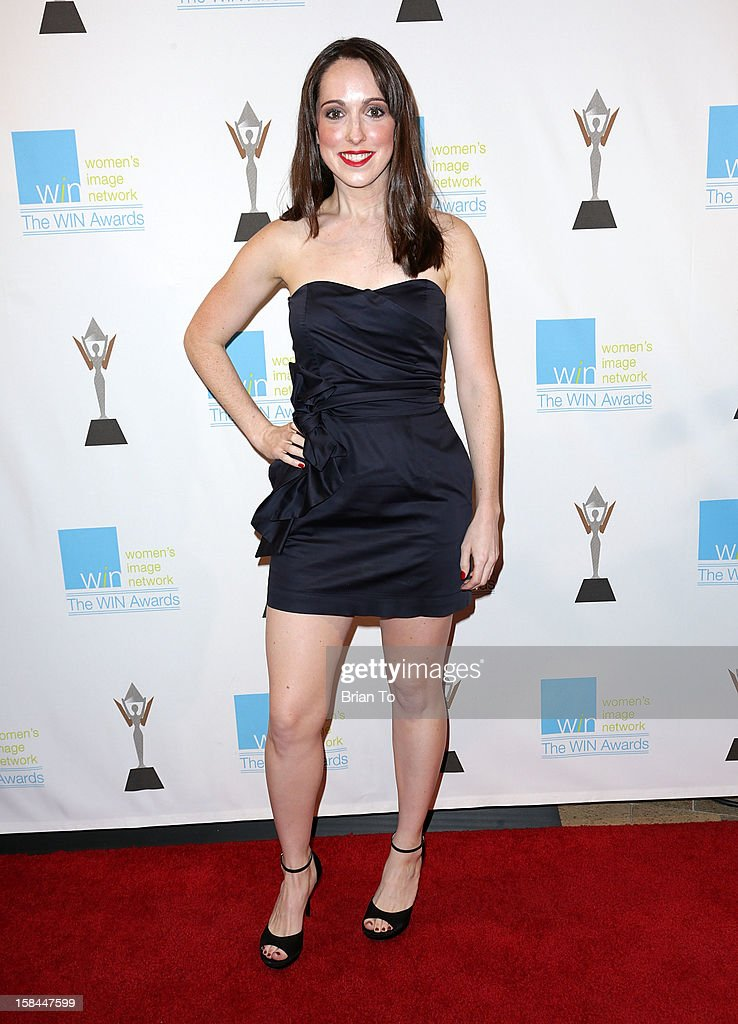 Jackie Koppell attends The 14th a annual Women's Image Network (WIN) awards at Paramount Theater on the Paramount Studios lot on December 12, 2012 in Hollywood, California.
