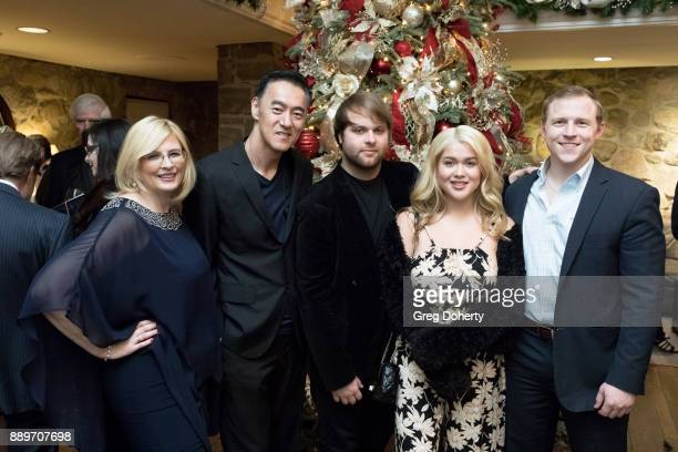 Jackie Lewis Kevin Carriker Joshua Erp Tory Ross and Michael Grizzard attend The Thalians Hollywood for Mental Health Holiday Party 2017 at the Bel...
