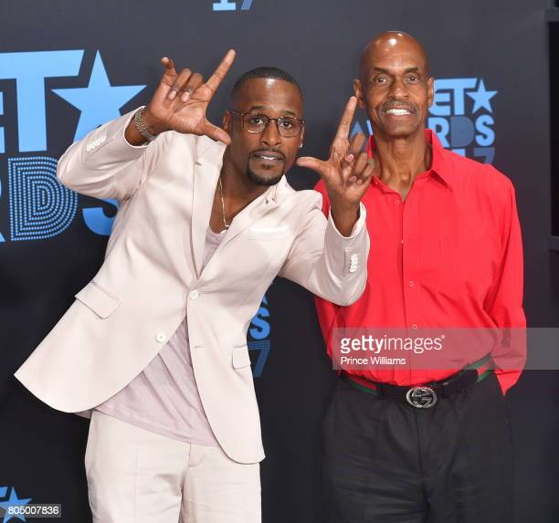Jackie Long attends the 2017 BET Awards at Microsoft Theater on June 25 2017 in Los Angeles California