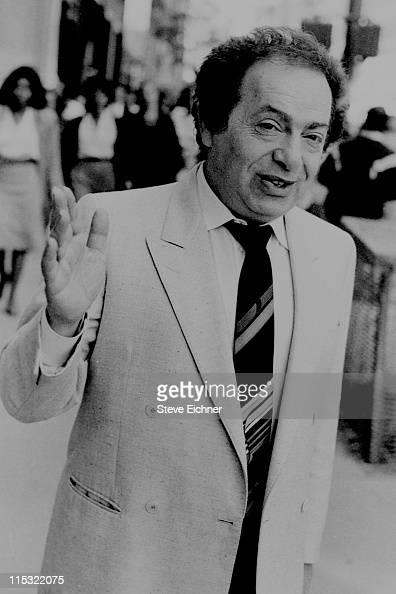 Jackie Mason during Jackie Mason 1988 in New York City New York United States