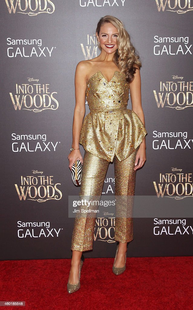 Jackie Miranne attends the 'Into The Woods' world premiere at the Ziegfeld Theater on December 8 2014 in New York City