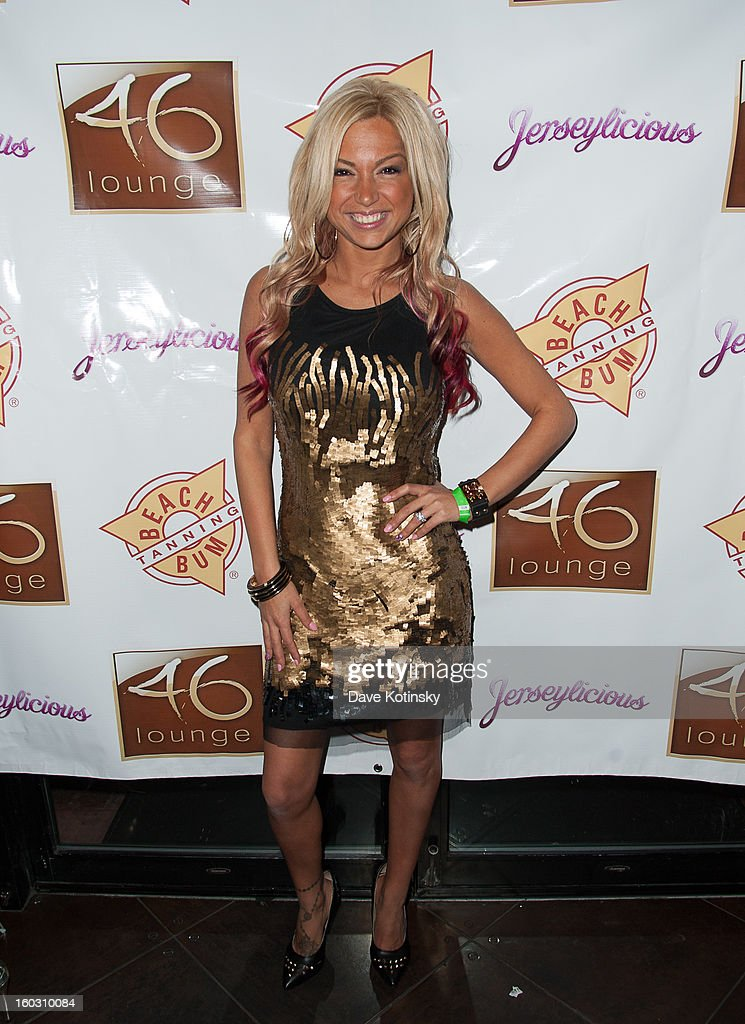 Jackie N Carmelo Bianchi attends 'Jerseylicious' Season 5 Premiere Celebration at 46 Lounge on January 28, 2013 in Totowa City.