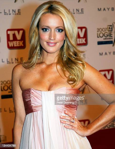 Jackie O during 2007 TV Week Logie Awards Arrivals at Crown Casino in Sydney NSW Australia