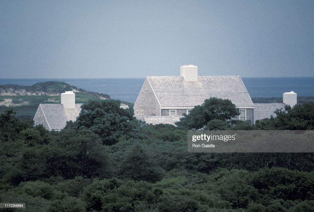 Jackie Onassis' New Home On Martha's Vineyard during Jackie Onassis Home On Martha's Vineyard at Jackie Onassis' Home in Martha, Massachusetts, United States.