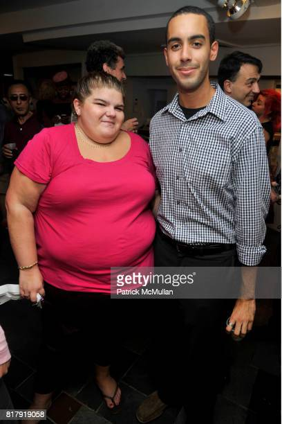 Jackie Phillips and Dario Vasquez attend Opening Reception for MARK DeMAIO's 'Absurd Notions' at Synchronicity Space on September 8th 2010 in New...