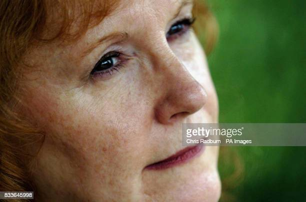 Jackie Putnam a survivor of the London terrorist attacks on July 7 2005 is seen at her home in Huntingdon Cambridgeshire