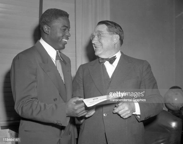 jackie robinson and branch rickey relationship test