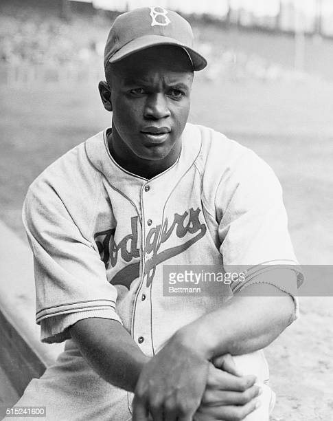 Jackie Robinson first black major league baseball player of the 20th century He made it in to the Baseball Hall of Fame in 1962