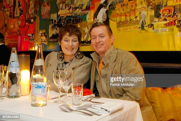 Jackie Rogers and Montgomery Frazier attend An Intimate Evening of Food Fashion and Gossip with the Inimitable Jackie Rogers at Jour et Nuit on March...