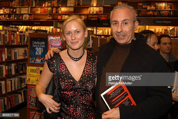 Jackie Ross and Rocco Greco attend Matthew Modine Book Signing for FULL METAL JACKET DIARY at Barnes Noble Book Store on January 4 2006 in New York...
