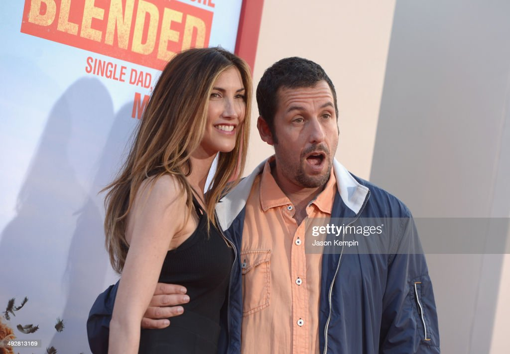 <a gi-track='captionPersonalityLinkClicked' href=/galleries/search?phrase=Jackie+Sandler&family=editorial&specificpeople=4402496 ng-click='$event.stopPropagation()'>Jackie Sandler</a> and <a gi-track='captionPersonalityLinkClicked' href=/galleries/search?phrase=Adam+Sandler&family=editorial&specificpeople=202205 ng-click='$event.stopPropagation()'>Adam Sandler</a> attend the 'Blended' premiere at TCL Chinese Theatre on May 21, 2014 in Hollywood, California.