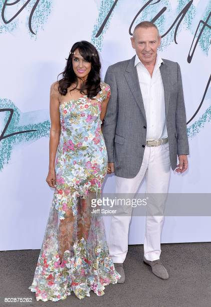 Jackie St Clair and Carl Michaelson attend The Serpentine Galleries Summer Party at The Serpentine Gallery on June 28 2017 in London England