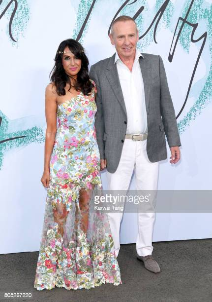 Jackie St Clair and Carl Michaelson attend The Serpentine Gallery Summer Party at The Serpentine Gallery on June 28 2017 in London England