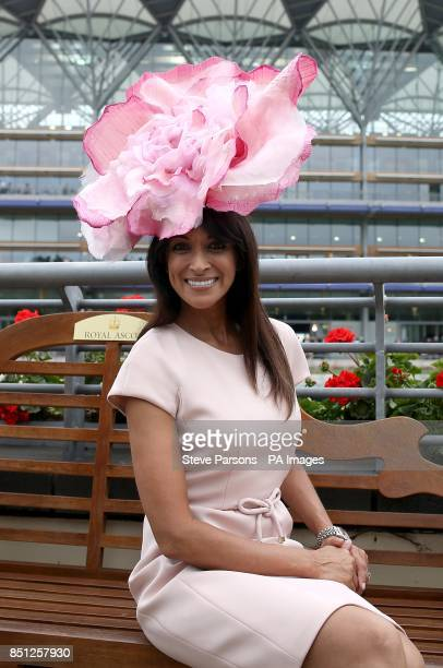Jackie St Clair arrives on day one of the Royal Ascot Meeting at Ascot Racecourse Berkshire