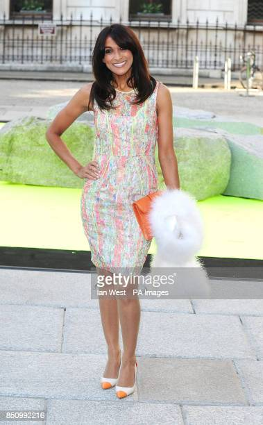 Jackie St Clair arriving at the Summer Exhibition Preview Party at the Royal Academy in London