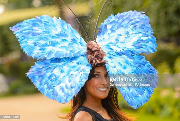 Jackie St Clair arriving for Day One of the 2014 Royal Ascot Meeting at Ascot Racecourse Berkshire