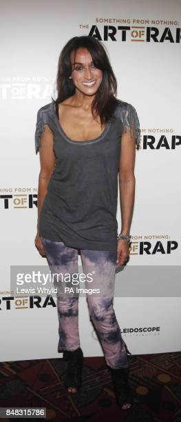 Jackie St Clair at the European premiere of The Art of Rap at the Hammersmith Apollo London