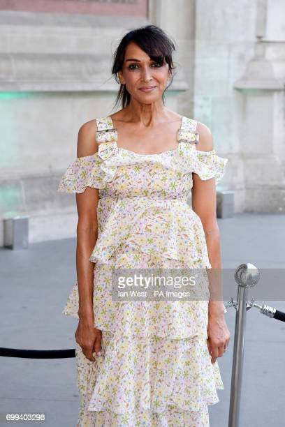 Jackie St Clair attending the V and A Summer Party held at the Victoria Albert Museum London