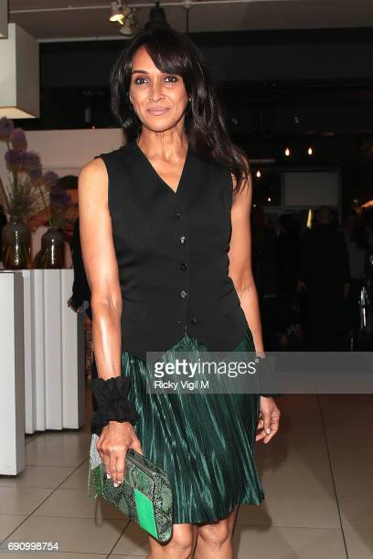 Jackie St Clair attends Chemical X private view at Exposure Gallery on May 31 2017 in London England