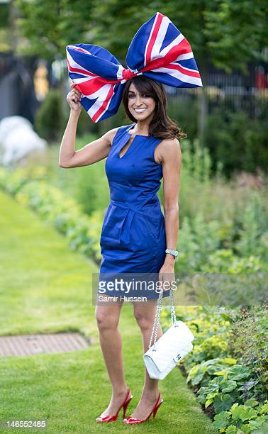 Jackie St Clair attends day 1 of Royal Ascot 2012 at Ascot Racecourse on June 19 2012 in Ascot United Kingdom