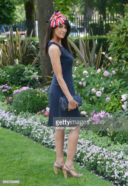 Jackie St Clair attends day 2 of Royal Ascot at Ascot Racecourse on June 21 2017 in Ascot England