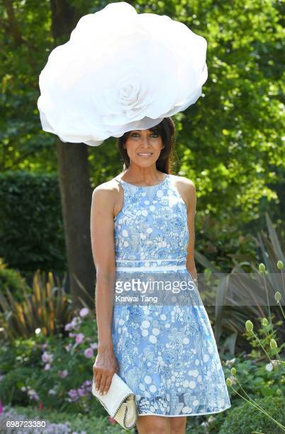 Jackie St Clair attends Royal Ascot 2017 at Ascot Racecourse on June 20 2017 in Ascot England