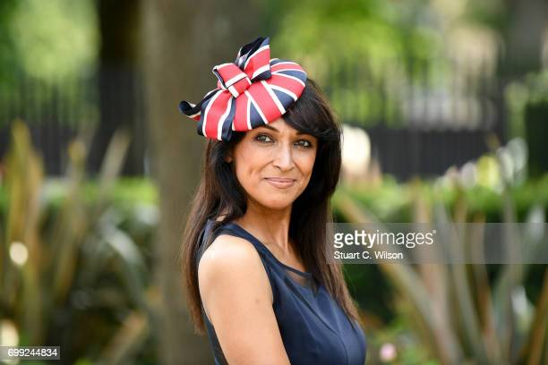 Jackie St Clair attends Royal Ascot 2017 at Ascot Racecourse on June 21 2017 in Ascot England
