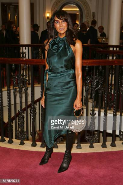 Jackie St Clair attends the Joshua Kane 'Fantasy' show during London Fashion Week September 2017 at the London Palladium on September 15 2017 in...